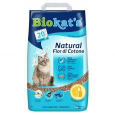 Biokat's Natural Fior di Cotone żwirek 10 kg