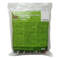 HUHU Bamboo 2-kolorowe paluszki 480 g