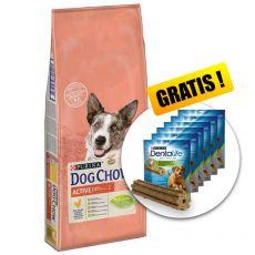 PURINA DOG CHOW Active 14kg+ PREZENT