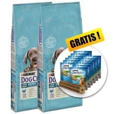 PURINA DOG CHOW PUPPY Large Breed TURKEY 2 x 14 kg+ PREZENT