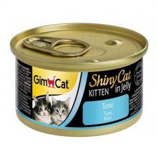 GimCat ShinyCat Kitten tuńczyk 70 g
