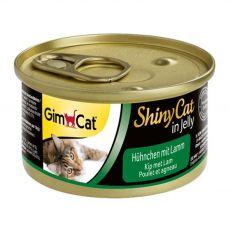 GimCat ShinyCat kurczak + jagnięcina 70 g