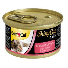 GimCat ShinyCat kurczak + krab 70 g