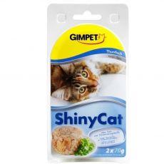 GimCat ShinyCat tuńczyk 2 x 70 g