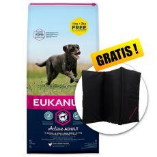 EUKANUBA ADULT Large Breed Chicken 15kg + 3kg ZA DARMO+ PREZENT