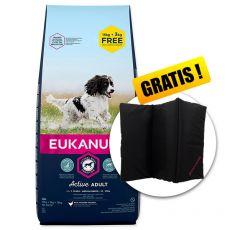 EUKANUBA ADULT MEDIUM Breed 15kg + 3kg ZA DARMO + PREZENT