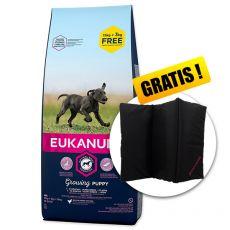 EUKANUBA PUPPY & JUNIOR Large Breed 15kg + 3kg ZA DARMO + PREZENT