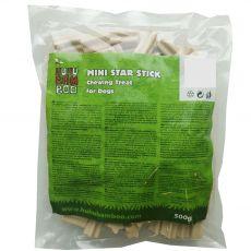 HUHU Bamboo pałeczki gwiazdki mini 500 g