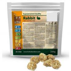 HUHU Bamboo kuleczki ze skóry królika z ryżem 230 g