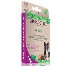 BIOGANCE Biospotix Dog spot-on S-M o działaniu odstraszającym 5 x 1 ml (do 20 kg)