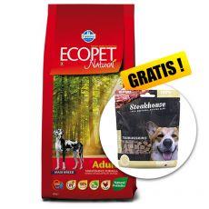 Farmina MO P ECOPET N dog ADULT MAXI 12 kg + 2 kg GRATIS + PREZENT