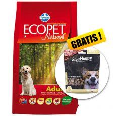 Farmina MO P ECOPET N dog ADULT MEDIUM 12 kg + 2 kg GRATIS + PREZENT