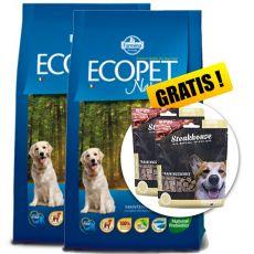 Farmina MO P ECOPET N dog FISH MAXI 2 x 12kg + 4kg GRATIS + PREZENT