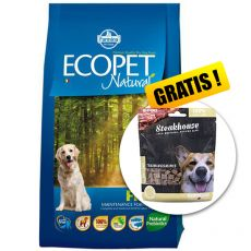 Farmina MO P ECOPET N dog FISH MEDIUM 12 kg + 2 kg GRATIS + PREZENT