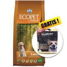 Farmina MO P ECOPET N dog LAMB MAXI 12 kg + 2kg GRATIS + PREZENT