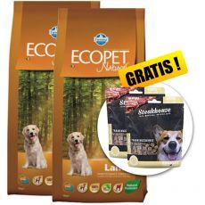 Farmina MO P ECOPET N dog LAMB MAXI 2 x 12 kg + 4 kg GRATIS  + PREZENT
