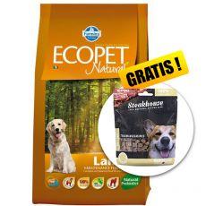Farmina MO P ECOPET N dog LAMB MEDIUM 12 kg + 2 kg GRATIS + PREZENT