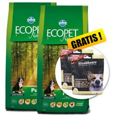Farmina MO P ECOPET N dog PUPPY MAXI 2 x 12 kg + 4 kg GRATIS + PREZENT