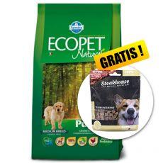 Farmina MO P ECOPET N dog PUPPY MEDIUM 12 kg + 2kg GRATIS + PREZENT