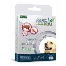 MAX BIOCIDE Obroża przeciwpasożytnicza dla średnich psów 60 cm