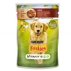 FRISKIES Adult VitaFit saszetka z jagnięciną i marchewką w sosie 100 g