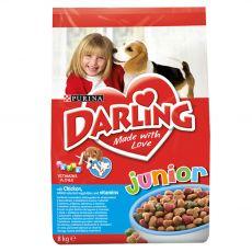 DARLING Junior z kurczakiem, dodatkiem warzyw i witamin 8 kg