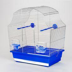 MARGOT I chrom - klatka dla papug - 43 x 25 x 47 cm