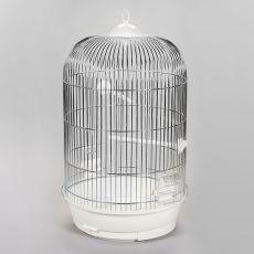 JULIA II chrom - klatka dla papug - 34 x 34 x 63 cm