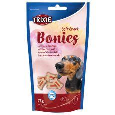 Soft Snack BONIES Light - kości - wołowina/indyk 75g
