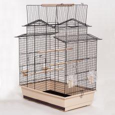 IZA III - klatka dla papużek - 58,5 x 38 x 65 cm