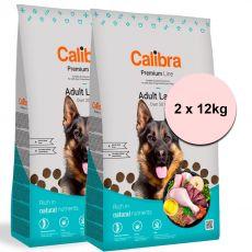 Calibra Dog Premium Line Adult Large 2 x 12 kg NEW