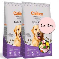 Calibra Dog Premium Line Senior & Light 2 x 12 kg NEW