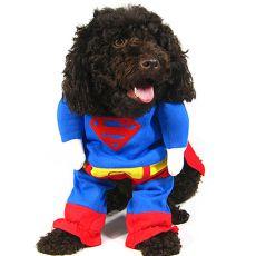 Karnawałowe ubranko dla psa SUPERMAN- L