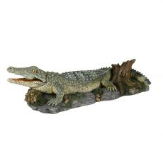 Dekoracja - Krokodyl na skale