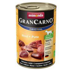 Konserwa GranCarno Fleisch Adult wołowina + indyk - 400 g