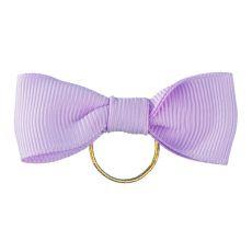 Kokardka dla psa - fioletowa 5 cm