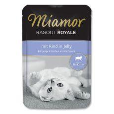 MIAMOR Ragout Kitten saszetka z wołowiną 100 g