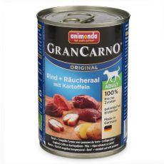 Konserwa GranCarno Fleisch Adult wędzony węgorz+ziemniaki- 400g