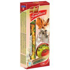 Kolba jabłkowa dla gryzoni - Vitapol Smakers, 90 g