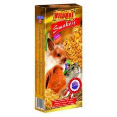 Kolby miodowe dla gryzoni - Vitapol Smakers, 90 g
