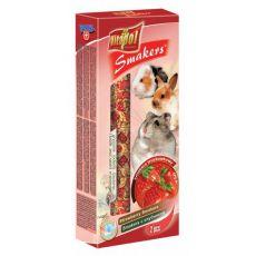 Vitapol Smakers kolba truskawkowa dla gryzoni 90 g