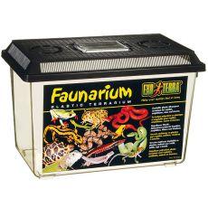 Faunarium - przenośne, plastikowe pudełko 370 x 220 x 250 mm