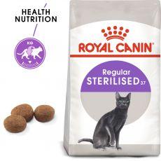 Royal Canin Sterilised 37 - dla kotów wykastrowanych, 2kg