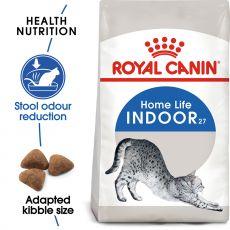 Royal Canin INDOOR 27 - karma dla kotów żyjących w domu 4 kg