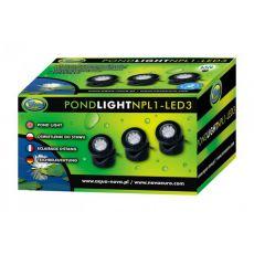 Oświetlenie do stawu NPL1-3LED 3x1,6W