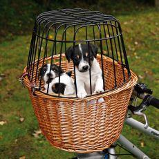 Koszyk podróżny dla psów na rower 44 x 48 x 33 cm