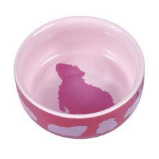 Ceramiczna miska na pokarm dla chomików  - 250 ml