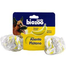 Bananowy gryzak dla psów, sznurek 20 cm