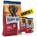Happy Dog Supreme Africa 12,5kg + 2 x 1kg GRATIS