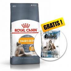 Royal Canin HAIR & SKIN CARE 10 kg + PREZENT